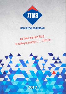 ATLAS Domieszki, dodatki, pigmenty do betonu katalog