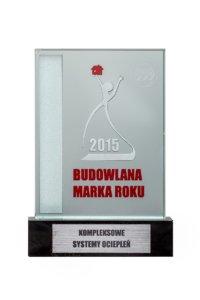 Srebrna Budowlana Marka Roku 2015