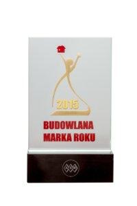 Złota Budowlana Marka Roku 2015