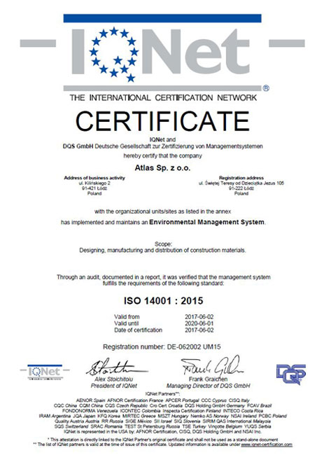 atlas_iqnet_062002-um15_en_ certyficate ISO 14001:2015 Environmental Management System