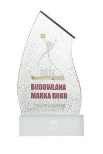 Złota Budowlana Marka Roku 2012