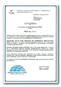 CertificateI Implement OECD Guidelines. Responsible Business 2012
