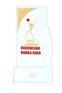 Złota Budowlana Marka Roku 2013