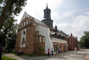 Kościół Św. Anny – Późnobarokowa rzeźba św. Jana Nepomucena