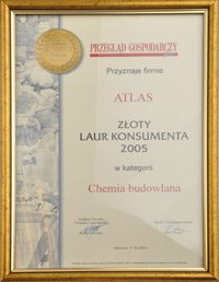 Golden Consumer Laurels 2005