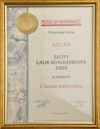 Złoty Laur Konsumenta 2005