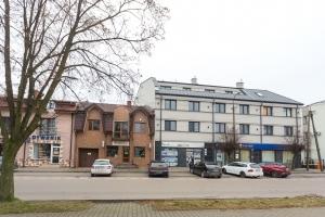 Budowa budynku mieszkalnego z lokalami usługowymi, Żuromin