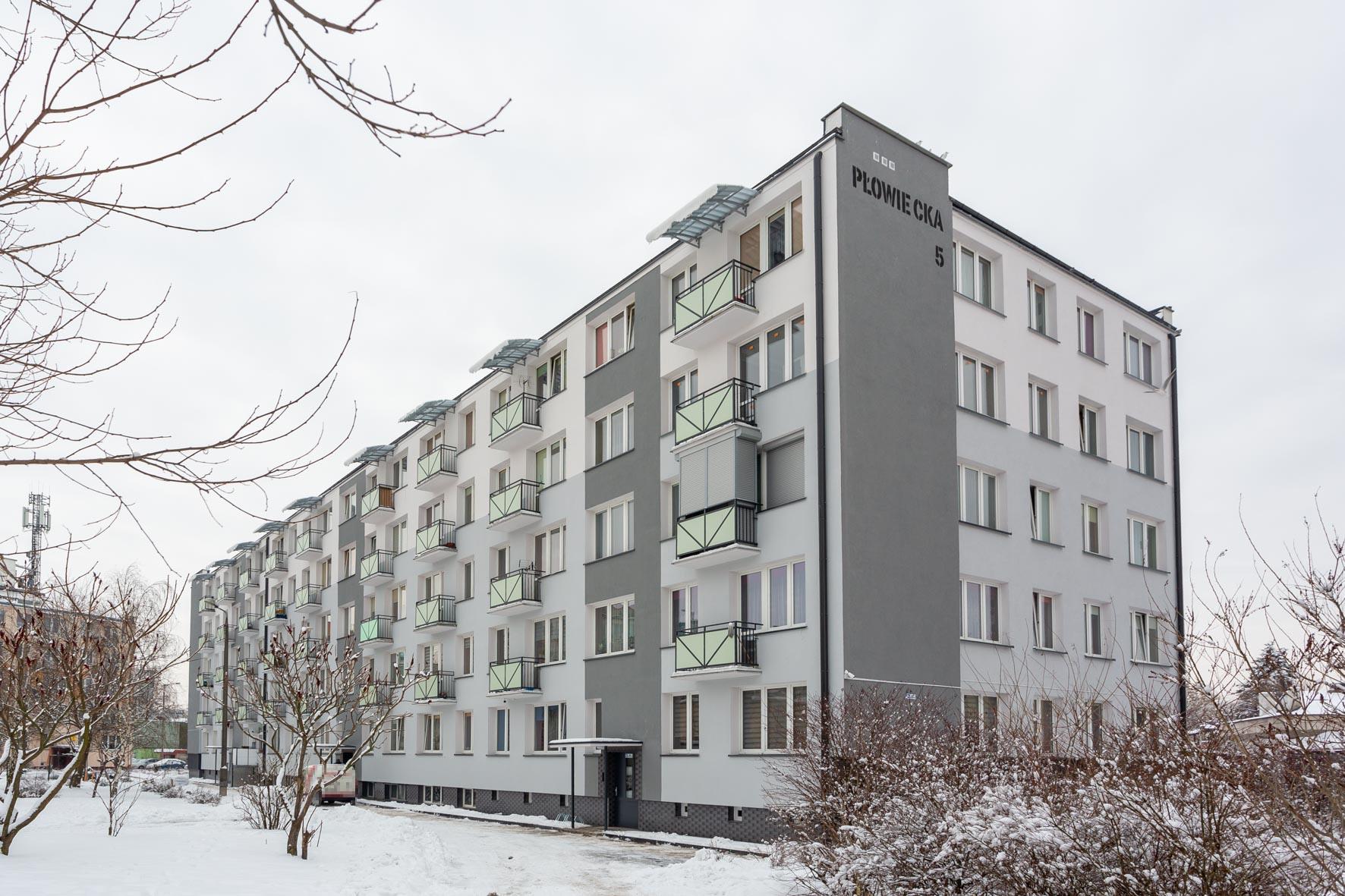 Termomodernizacja budynku mieszkalnego wielorodzinnego
